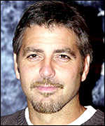 Actor George Clooney PA