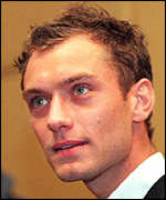 Actor Jude Law PA