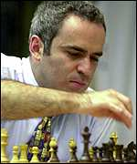 Kasparov at play