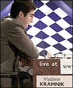 Vladimir Kramnik at the world chess champs