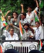 Campaigning in West Bengal