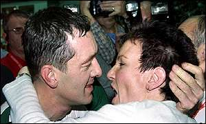 Chris Boardman and wife Sally