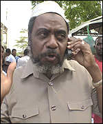 CUF presidential candidate, Seif Shariff Hamad