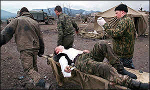Chechnya wounded