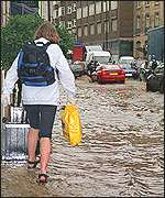 Floods in London, October 2000