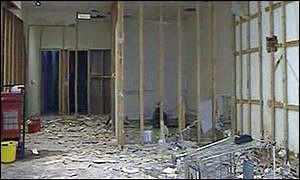 Interior - flood damage