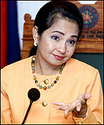 Vice-President Gloria Arroyo
