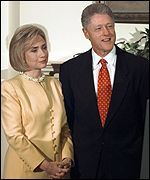 [ image: Hillary backing her husband]