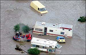 image: [ Floods like these in California could arrive in America again soon if El Ni�o unleashes its expected storms ]
