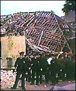 [ image: The huge bomb devastated Enniskillen]
