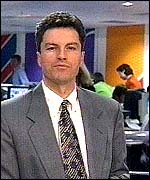 [ image: Former BBC correspondent Gavin Esler: One of the 'faces' of News 24]