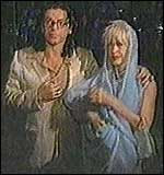 [ image: Hutchence and Yates: Planned to get married]