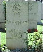 [ image: Gurkha grave at Monte Cassino in Italy]
