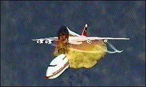 image: [ A reconstruction of the crash (CIA) ]