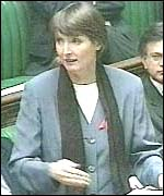 [ image: Harriet Harman: under fire in the Commons]