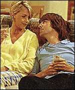 [ image: Men Behaving Badly stars, Leslie Ash and Neil Morrissey, as Debs and Tony]
