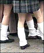 [ image: School girls are the Japanese trend-setters]