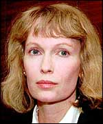 [ image: Mia Farrow - the step-mother of  Soon-Yi Previn and Mr Allen's previous partner]