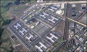 image: [ The top-security Maze prison in Northern Ireland ]