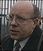 [ image: John White, prisoners spokesman for the Ulster Democratic Party]