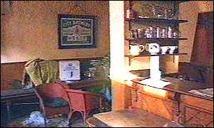 image: [ The bar of The Valiant Soldier - untouched by time for 30 years ]