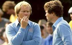 Jack Nicklaus and Tom Watson
