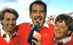 Paul Way, Sam Torrance and Ian Woosnam