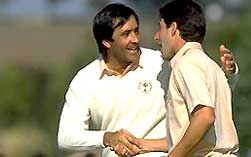 Seve Ballesteros and Jose Maria Olazábal