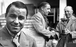 Gene Sarazen and Walter Hagen