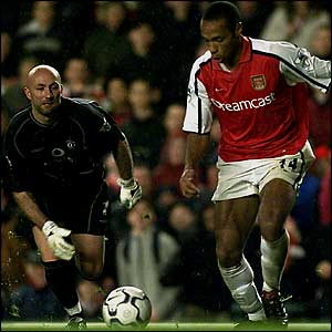 thierry henry record