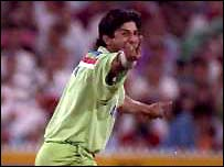 Wasim Akram starred with bat & ball