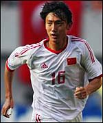 China star player, Qu Bo