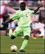 Nigeria star player, Yobo