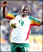 Senegal star player, Pape Bouba Diop