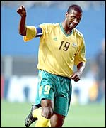 South Africa star player, Lucas Radebe