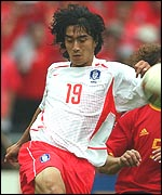 South Korea star player, Ahn Jung-Hwan