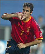Spain star player, Raul