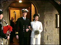 Bbc On This Day 12 1992 Princess Royal Remarries