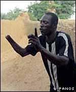 Nigerian amputee